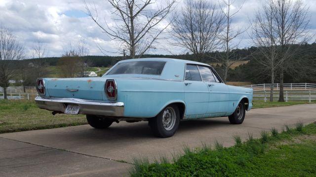 1965 FORD GALAXIE 500 4-DOOR HARDTOP  1965 FORD GALAX...