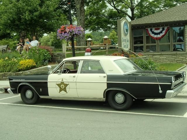 1965 Ford Galaxie 500 Andy Griffith Mayberry Patrol Police Car Nicest In The Usa