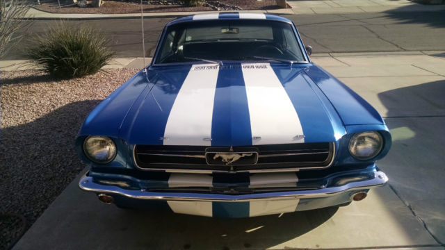 1965 Ford Mustang Blue Amp White Stripes Lots Of New