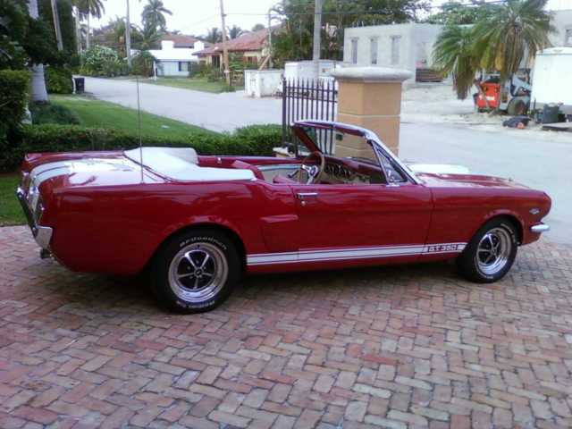 1965 Ford Mustang Convertible Shelby GT-350 Re-Creation