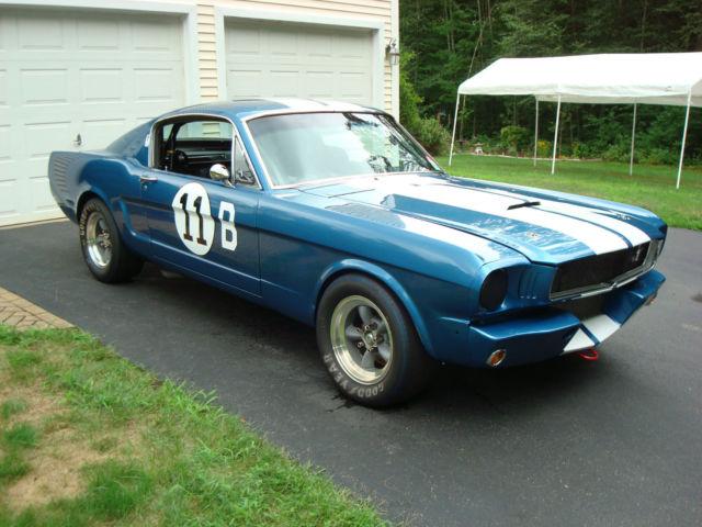 Ford Mustang Hipo K Code Fastback Gt R Vintage Race Car on 1965 Mustang Vin Number Location