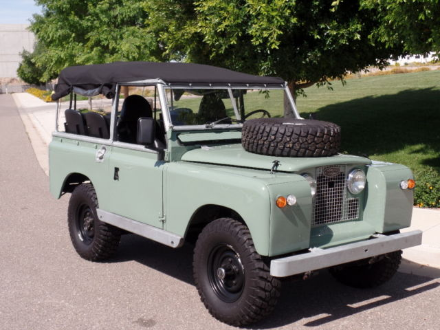 Land Rover Defender Paint Job >> 1965 Land Rover Series IIA 88 with 350 V8