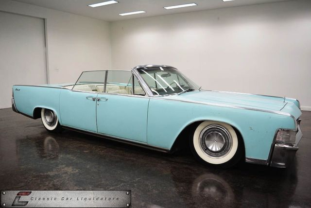 1965 lincoln continental convertible air ride. Black Bedroom Furniture Sets. Home Design Ideas
