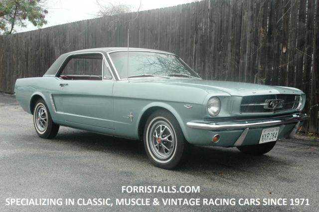 1965 mustang coupe rust free texas car. Black Bedroom Furniture Sets. Home Design Ideas