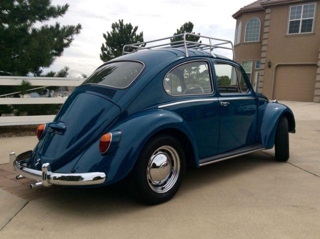 Volkswagen Vw Bug Beetle New Engine Paint Interior More Nice on Vw Beetle Shop Manual