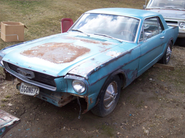 1966 66 Ford Mustang Project Car Barn Find