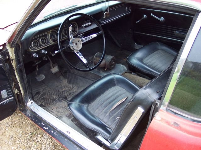 1966 66 Ford Mustang Project Car Former 70s Street Machine Barn Find