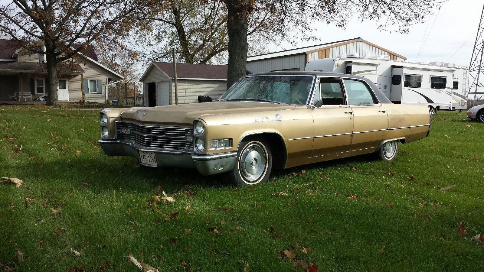 1966 Cadillac Calais Base Hardtop 4 Door 7 0l
