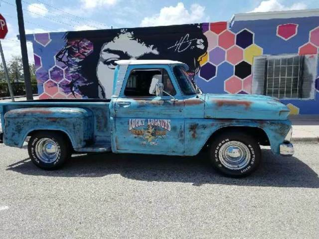1966 CHEVROLET C 10 PATINA PICK UP SHORT BED OLD SCHOOL