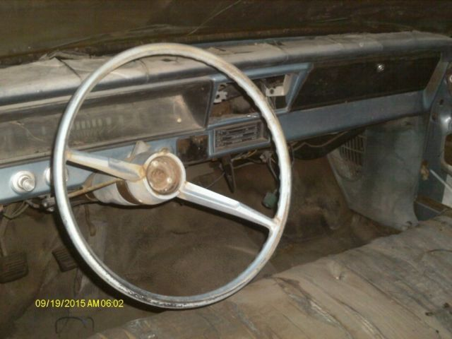 1966 chevrolet nova 2 door post kansas car solid project rare 4 cylinder car. Black Bedroom Furniture Sets. Home Design Ideas