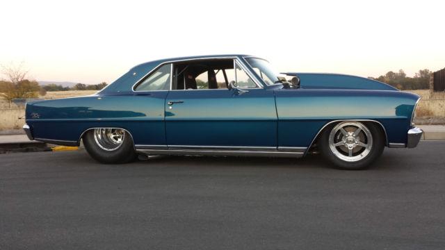 1966 Chevrolet Nova Super Sport Pro Street Awesome Build