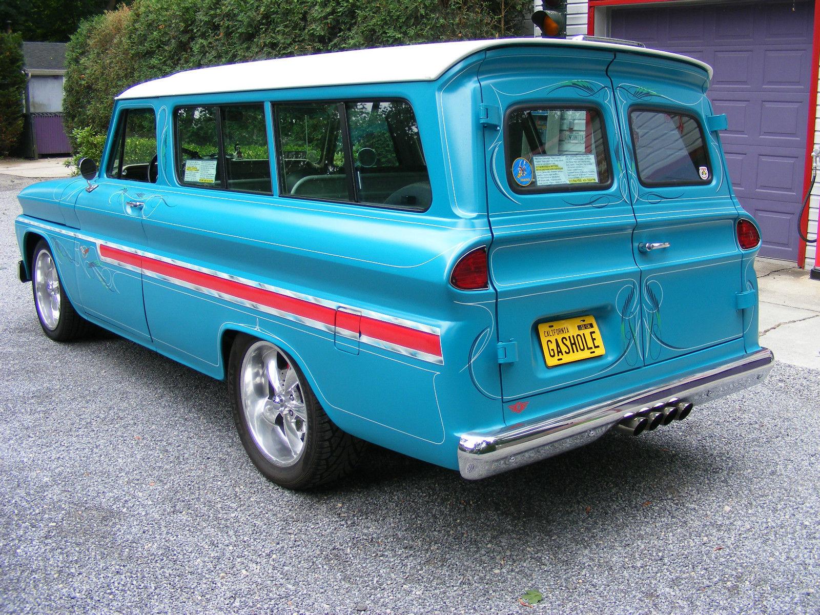 1966 Chevrolet Suburban   Hot Rod   Custom   No Rat Rod