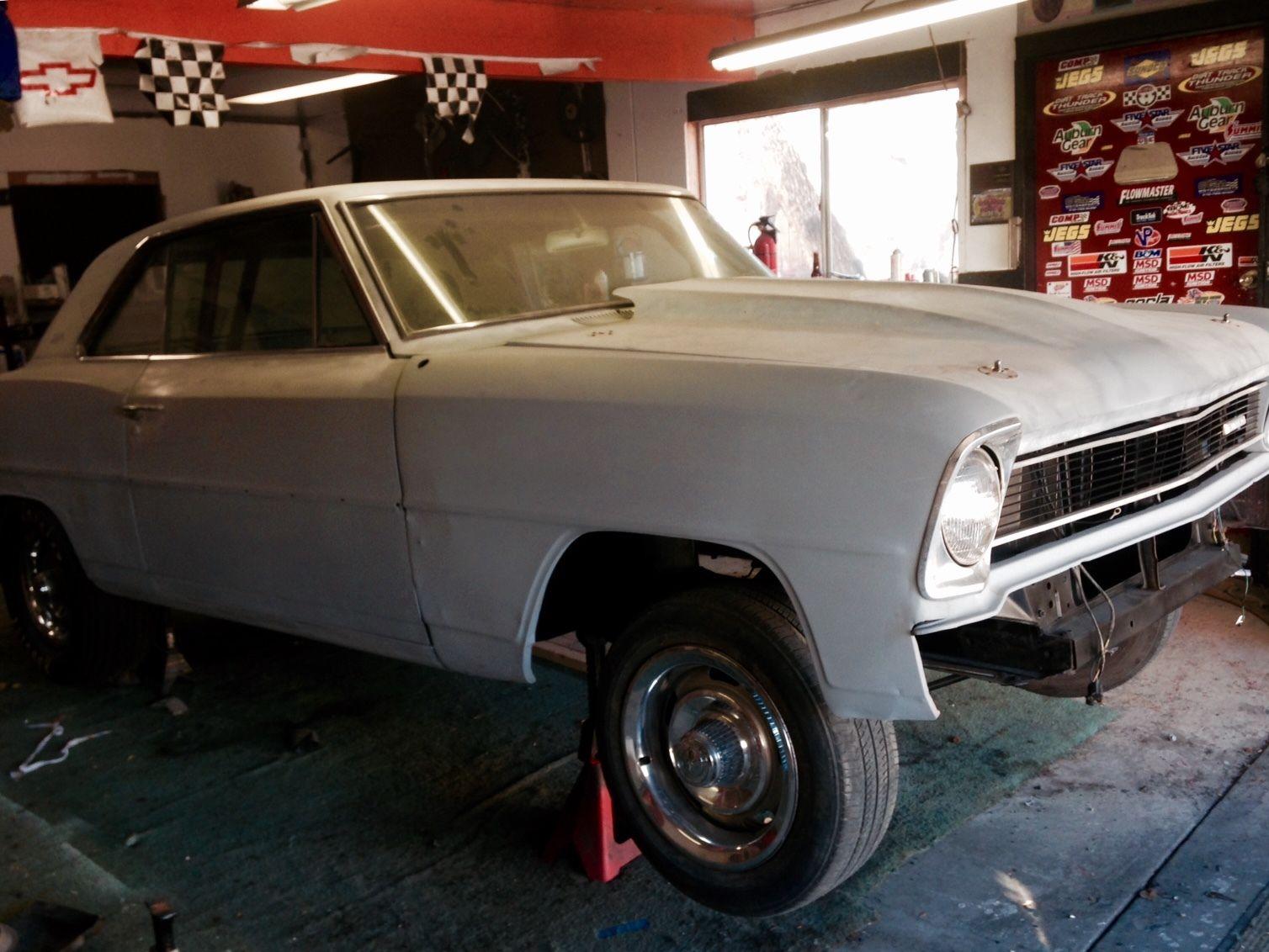 1966 chevy ii nova 2 door hard top roller overhaulin. Black Bedroom Furniture Sets. Home Design Ideas