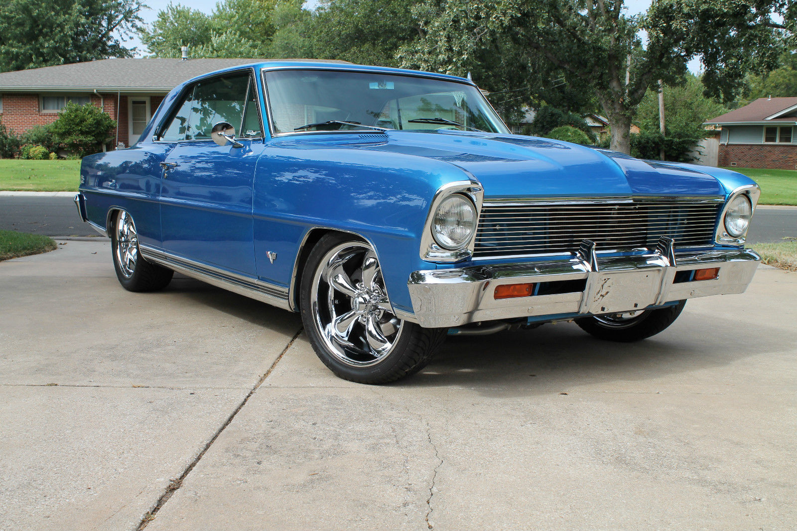 1966 chevy ii nova ss pro touring resto mod street rod hot rod tpi fuel inject for sale in. Black Bedroom Furniture Sets. Home Design Ideas