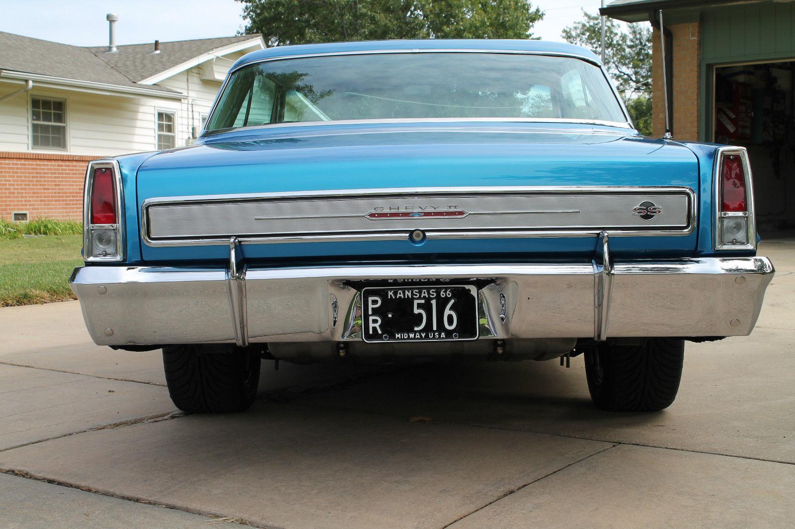 1966 Chevy Ii Nova Ss Pro Touringresto Mod Street Rodhot Rod Tpi Fuel Inject For Sale In Wichita Kansas United States