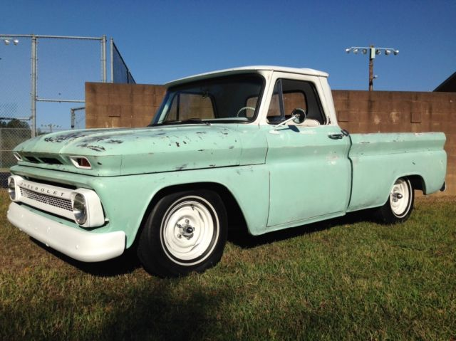 1966 chevy short bed c10 patina truck hot rod new custom