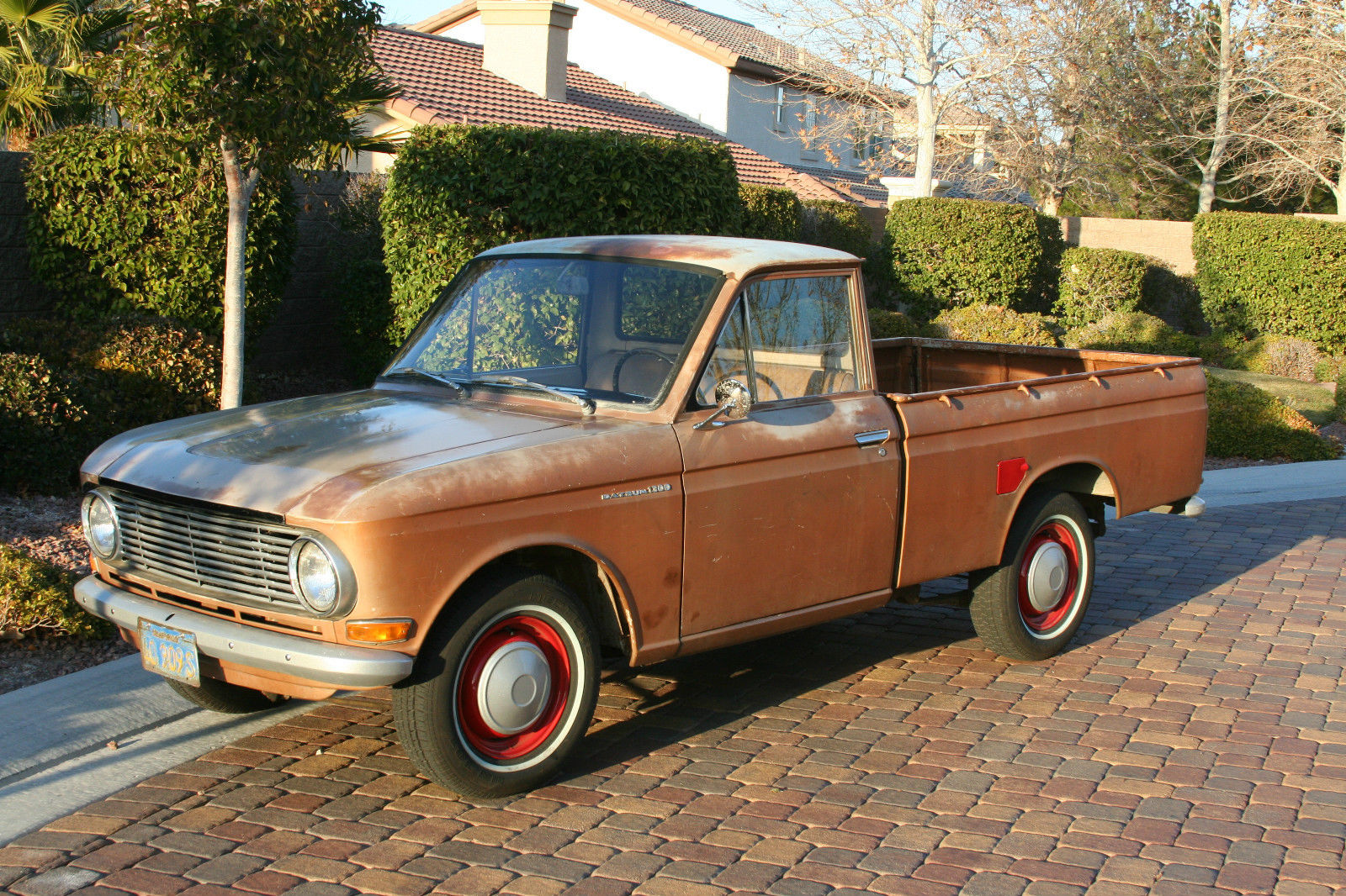 1966 datsun pickup 520 earlier than 521 510 411 truck mini original rare for sale in las vegas. Black Bedroom Furniture Sets. Home Design Ideas