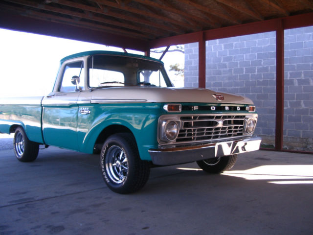 1966 Ford F100 Custom Cab Short Bed Pickup Truck