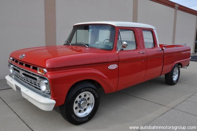 1966 ford f250 crew cab swb f100 f350 original hot rod. Black Bedroom Furniture Sets. Home Design Ideas