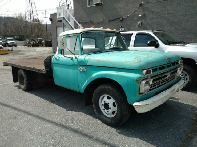 1966 ford f350 all original runs drives nearly 100. Black Bedroom Furniture Sets. Home Design Ideas