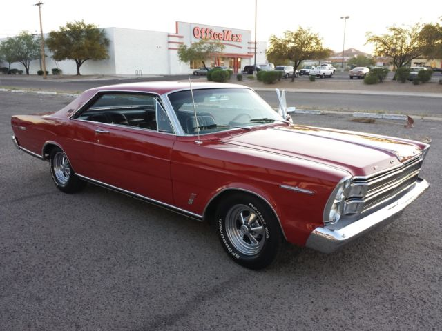1966 Ford Galaxie 500 Xl Hardtop Fastback 390 Complete