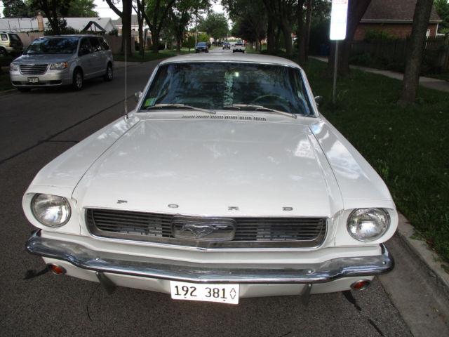 1966 ford mustang 6 cylinder 2 door coupe. Black Bedroom Furniture Sets. Home Design Ideas