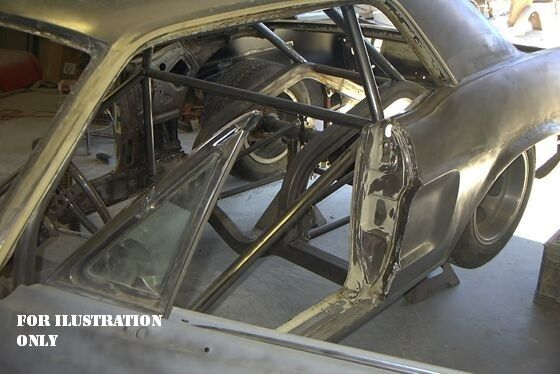 1966 Ford Mustang Pro Touring Stroker Roll Cage Tubs