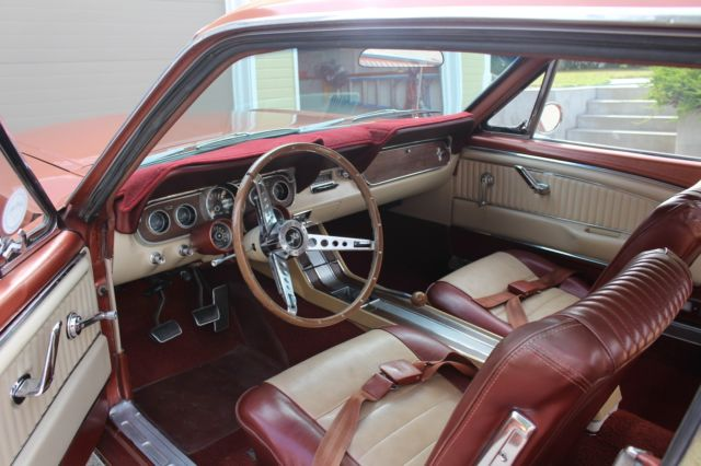 1966 Ford Mustang Rare Rallypac Pony Interior Restored