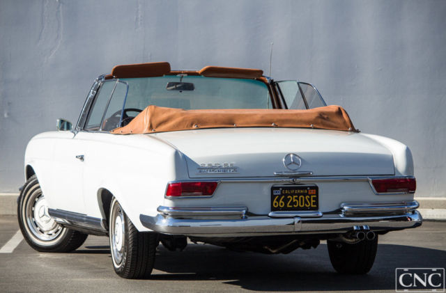 1966 mercedes benz 250 se 250se original convertible for Mercedes benz ontario phone number