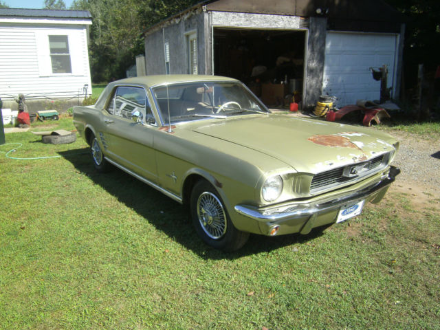 1966 Mustang Coupe Barn Find Project Car