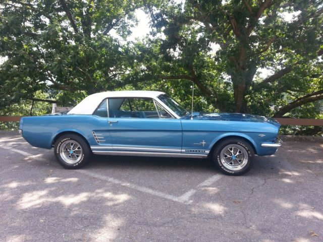 1966 Mustang Coupe CCode Pony Package