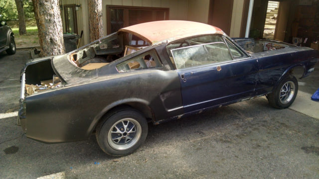 1966 Mustang Fastback Conversion V8 Project