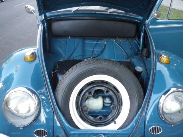1966 Sea Blue Vw Beetle For Sale Oldbug Com: 1966 Rag Top VW Beetle