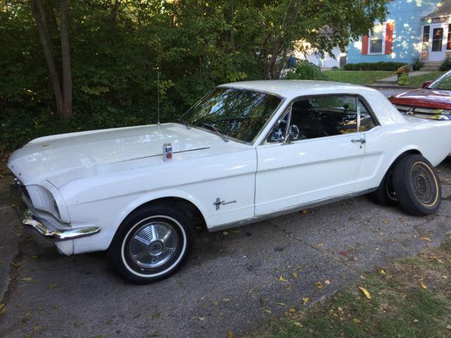 1966 Rust Free California Mustang Sprint