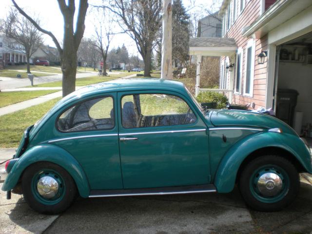 1966 volkswagen beetle classic vw for parts or rat rod. Black Bedroom Furniture Sets. Home Design Ideas