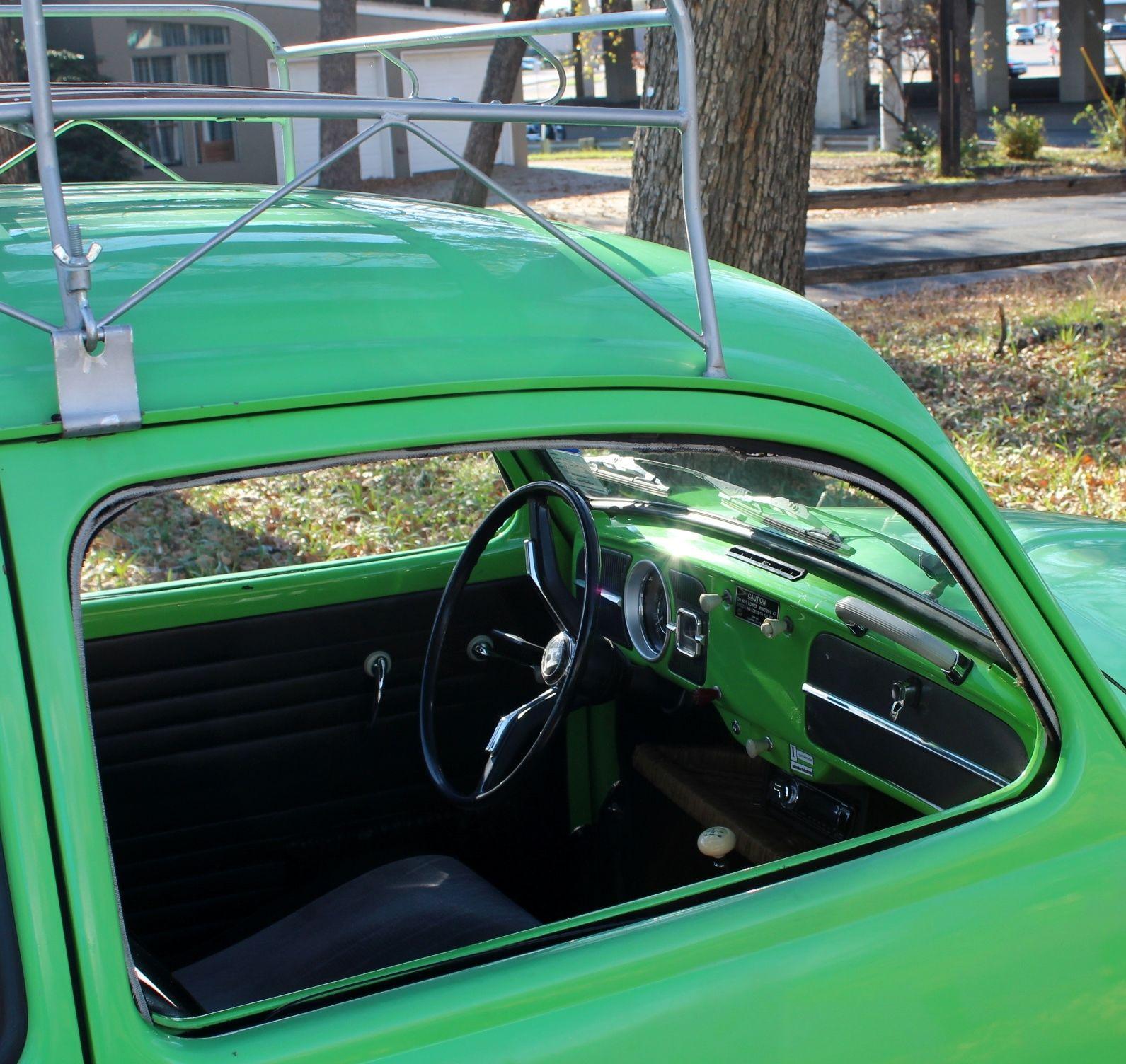 1966 Volkswagen Bug California Custom Signal Green Empi