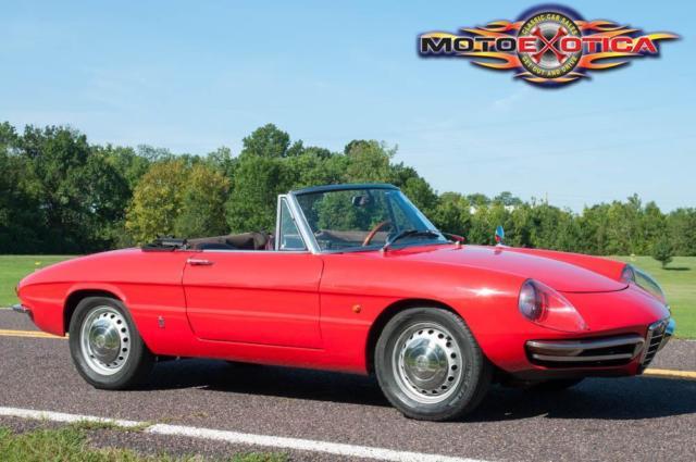 Alfa Romeo Duetto Boattail Spider - 1967 alfa romeo spider for sale