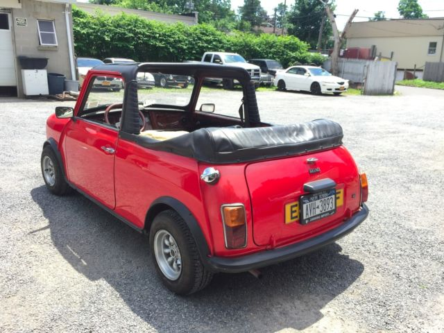 1967 austin mini hl kent convertible turn key fun fantastic condition. Black Bedroom Furniture Sets. Home Design Ideas