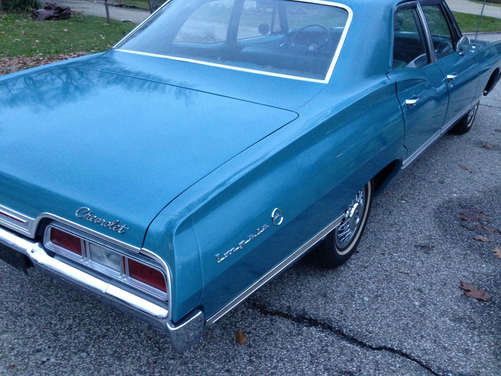 1967 cheverolet impala 4 door w 327 near mint supernatural car no reserve. Black Bedroom Furniture Sets. Home Design Ideas