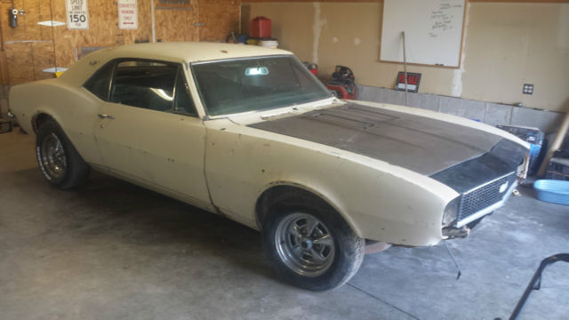 1967 Chevrolet Camaro Great Restoration Project Mostly Complete 67