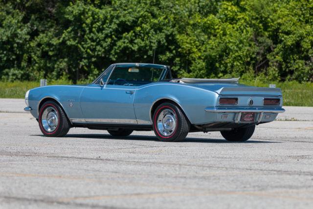 1967 Chevrolet Camaro Rs Convertible Correct Nantucket Blue