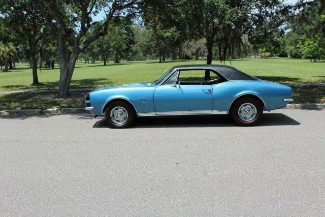 1967 chevrolet camaro rs ss 95 324 miles marina blue coupe 350 ci manual 1967 Camaro Orange