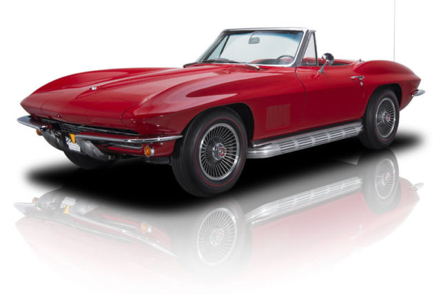 1967 Chevrolet Corvette Sting Ray 66406 Miles Rally Red