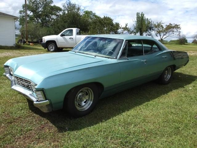1967 Chevrolet Impala 4 Door Hardtop Supernatural 67 4dr