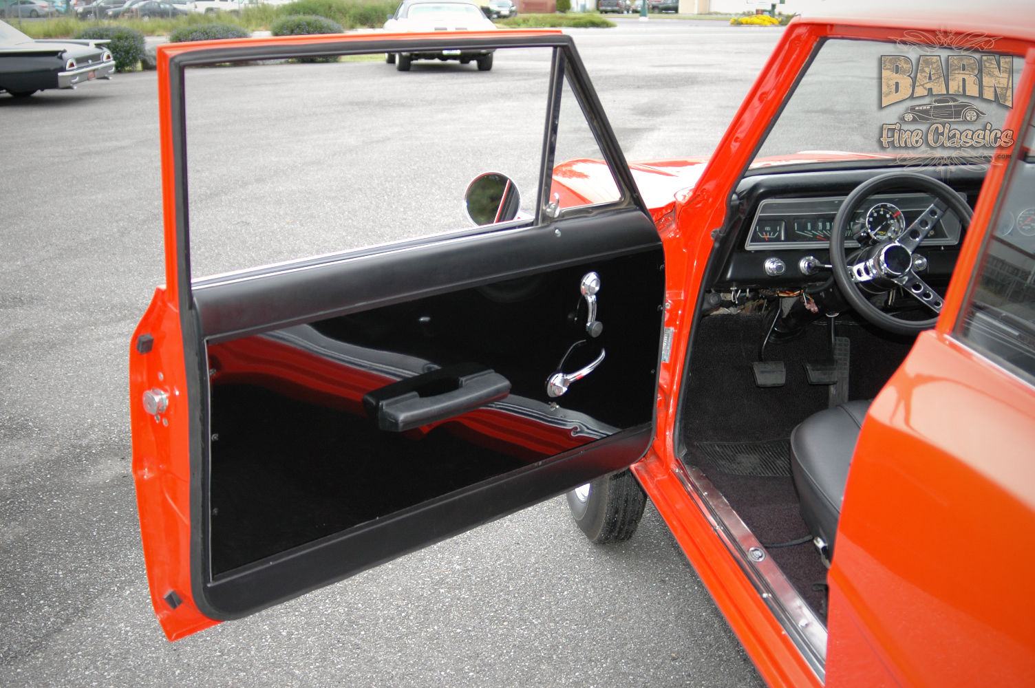 1967 chevrolet nova gasser 350 v8 5 speed manual trans full custom build. Black Bedroom Furniture Sets. Home Design Ideas