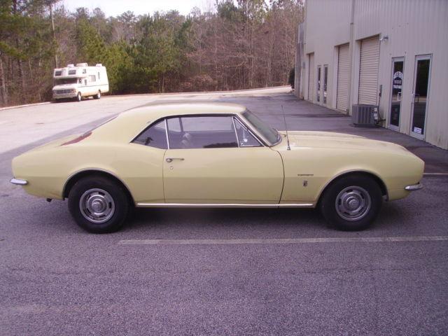 1967 Chevy Camaro Unmolested Original 6 Cylinder 3 Speed