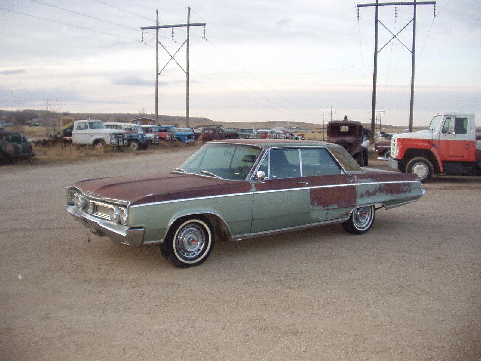 1967 Dodge Monaco Polara 4 Door Hardtop 440 Big Block Loaded