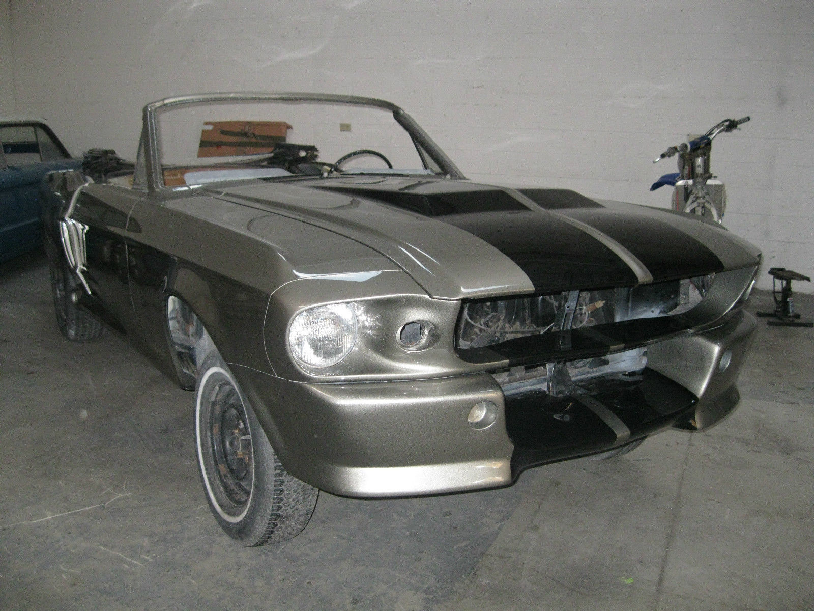 1967 eleanor mustang project car for sale in carlsbad california united states. Black Bedroom Furniture Sets. Home Design Ideas