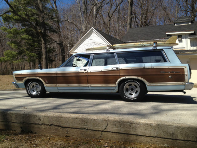 1967 ford country squire surf wagon original condition. Black Bedroom Furniture Sets. Home Design Ideas