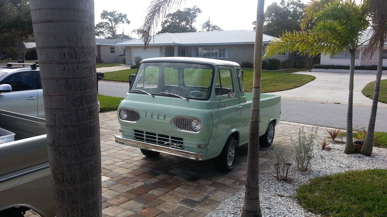 1967 Ford Econoline Pickup Truck 1961